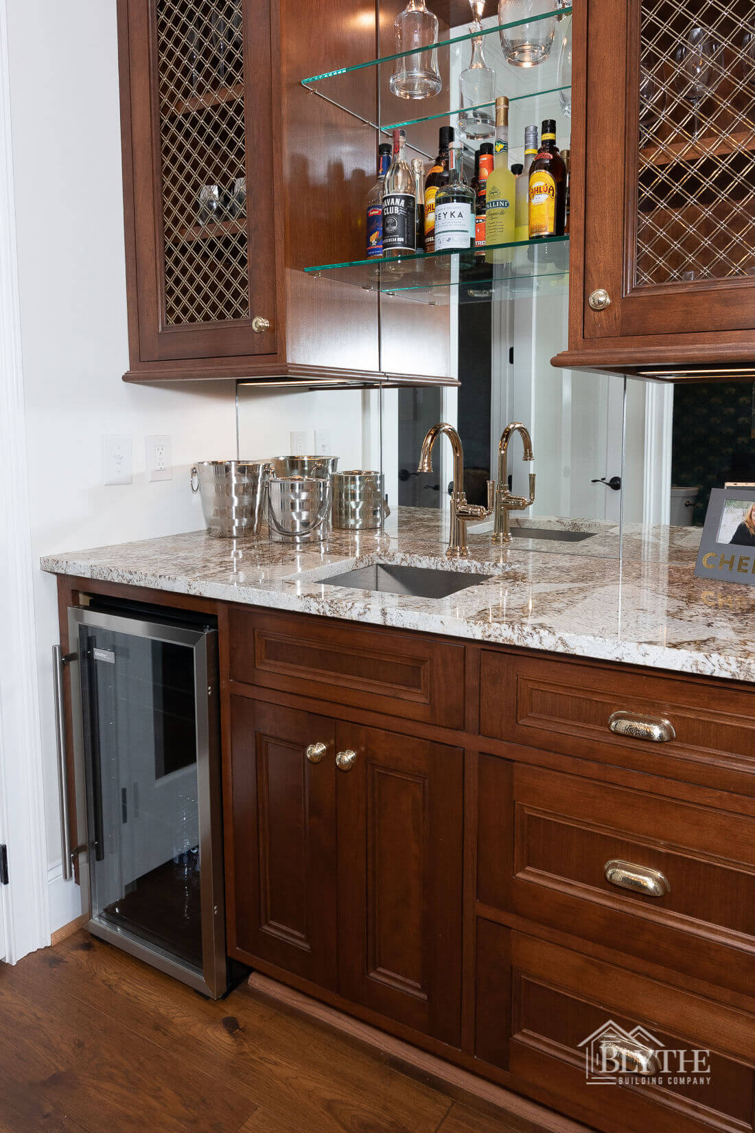 wet bar home builder sc