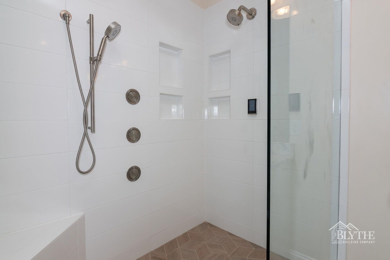 bathroom tile shower home builder sc