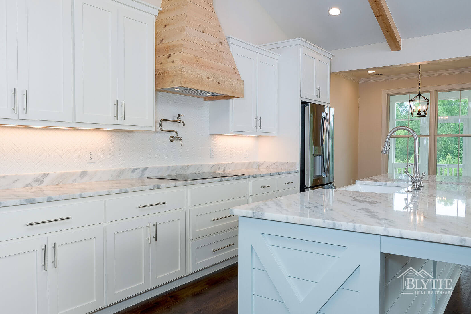 kitchen cabinets and island home builder sc
