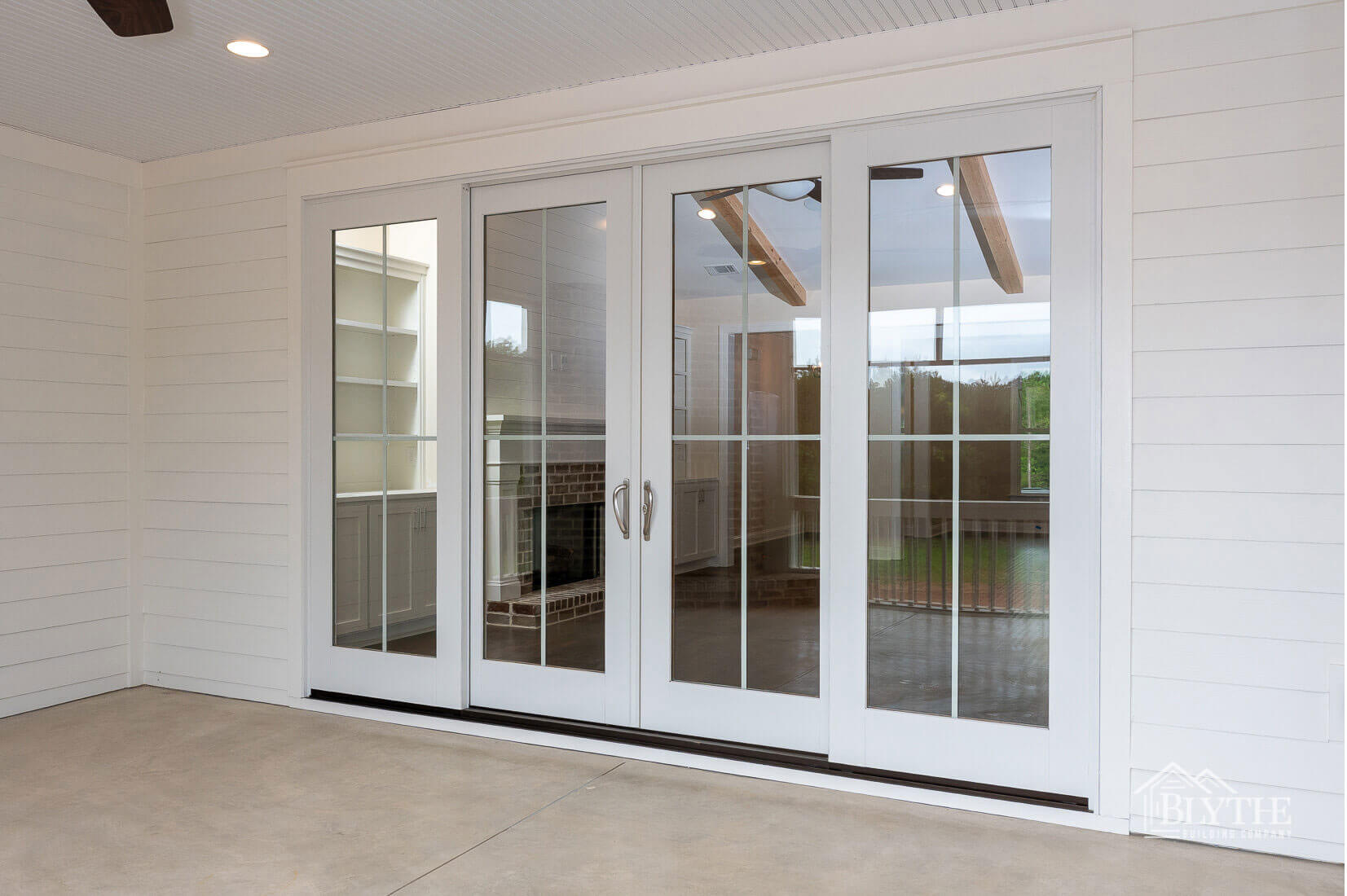 patio doors home builder sc